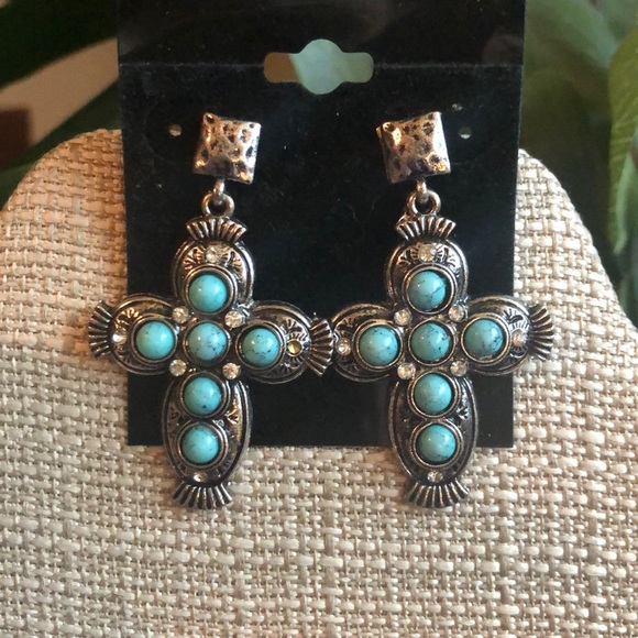 90acae0dd Jewelry | Cross Earrings | Poshmark